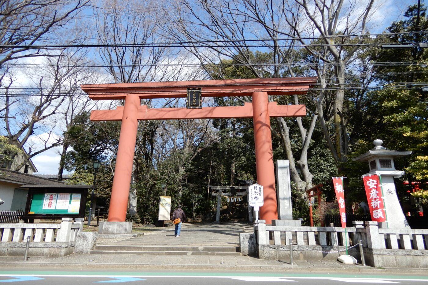 世田谷八幡宮の写真