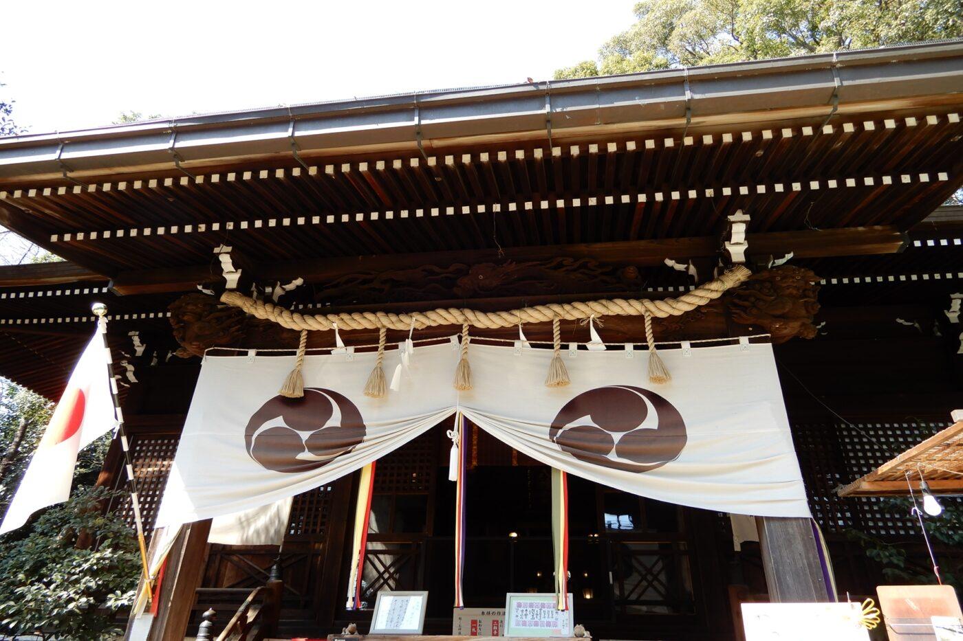太子堂八幡神社の写真