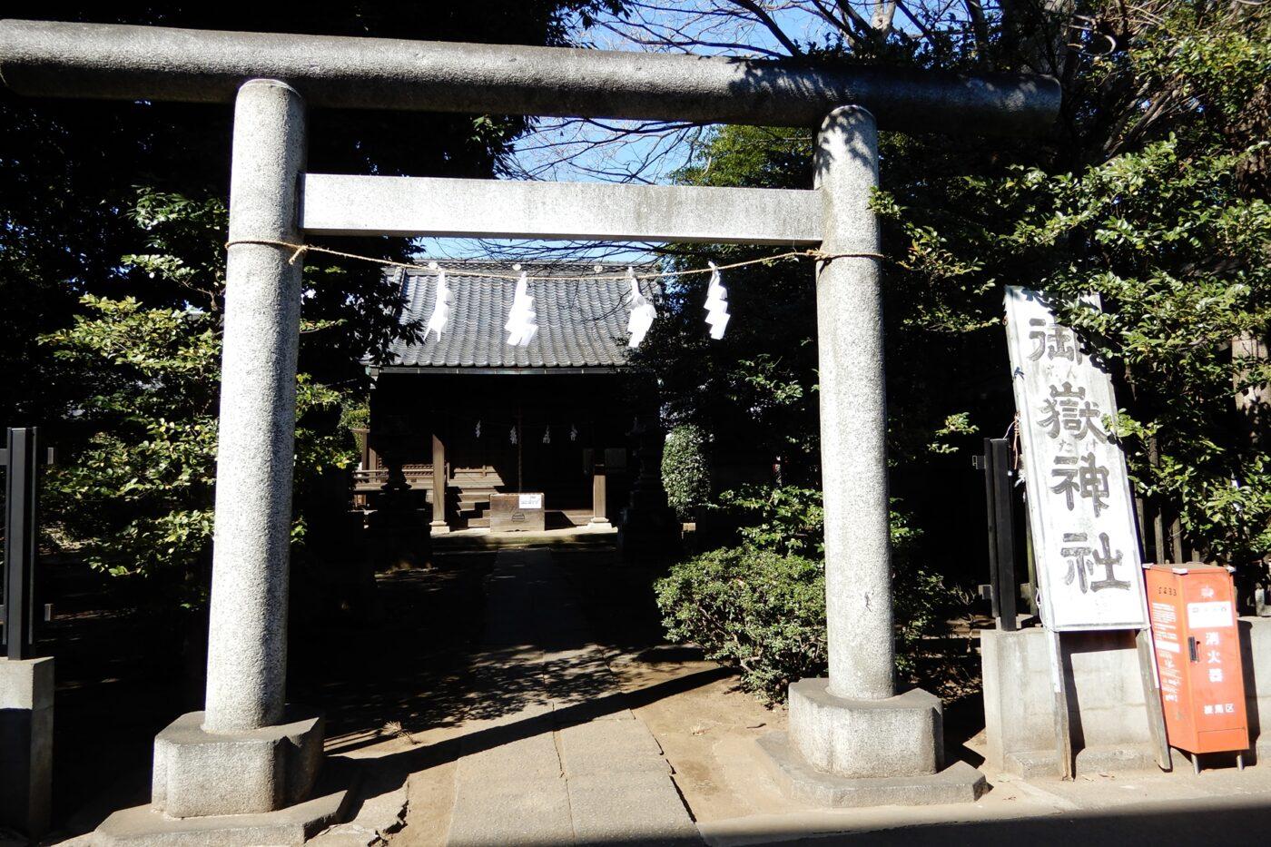 下石神井御嶽神社の写真