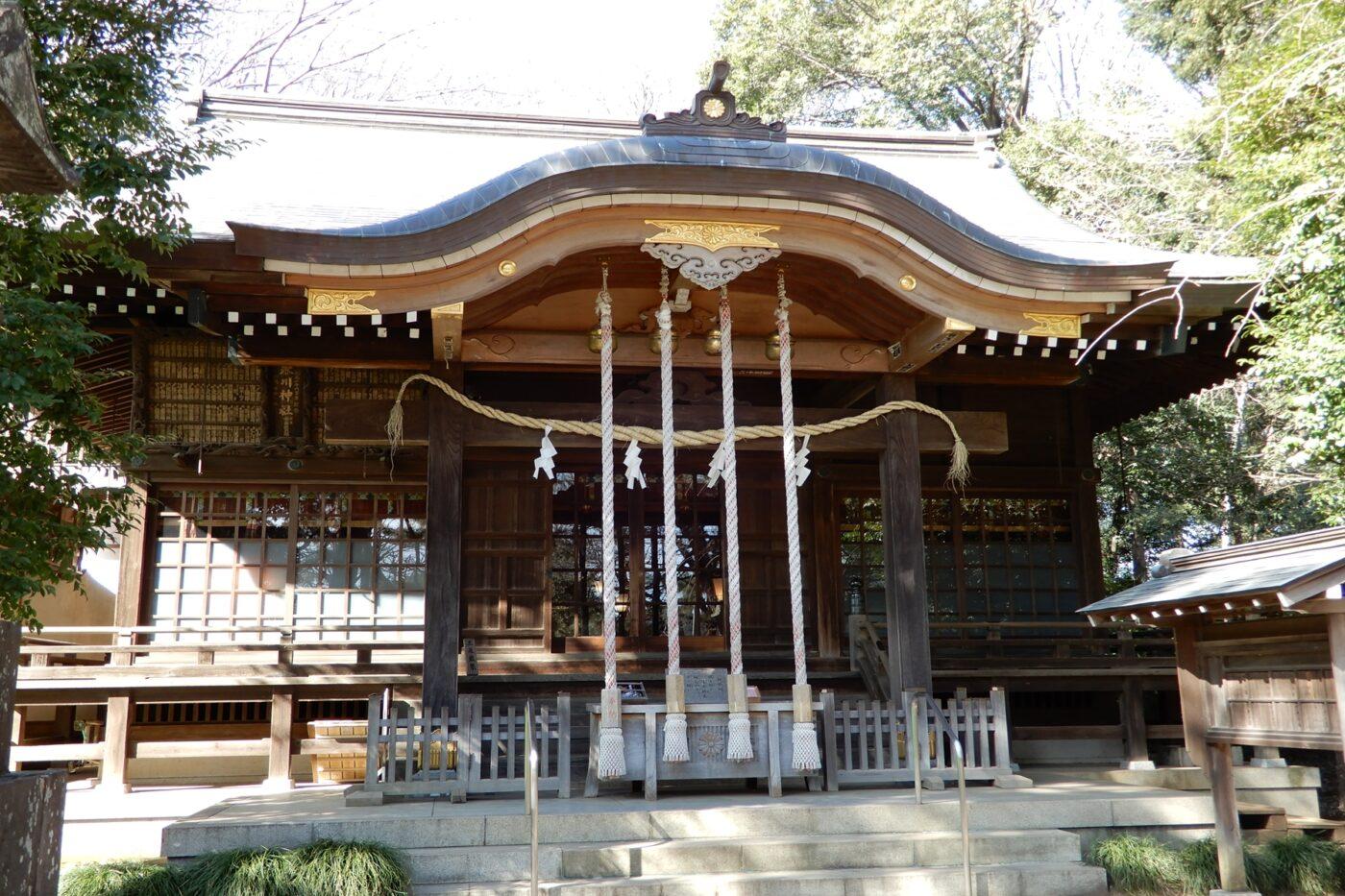 石神井氷川神社の写真