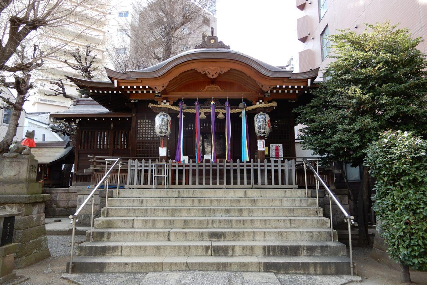 池尻稲荷神社の写真