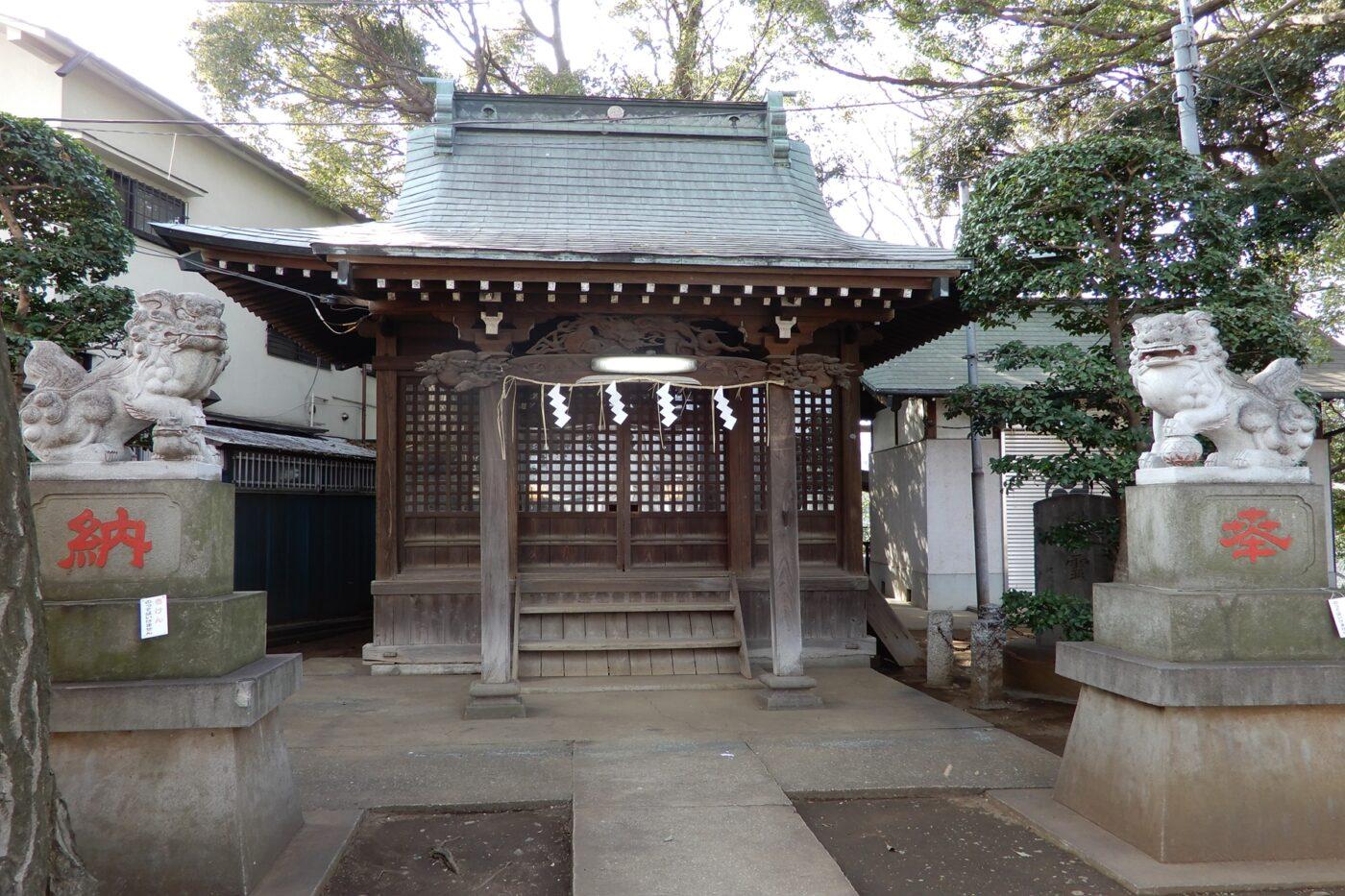駒繋神社の写真