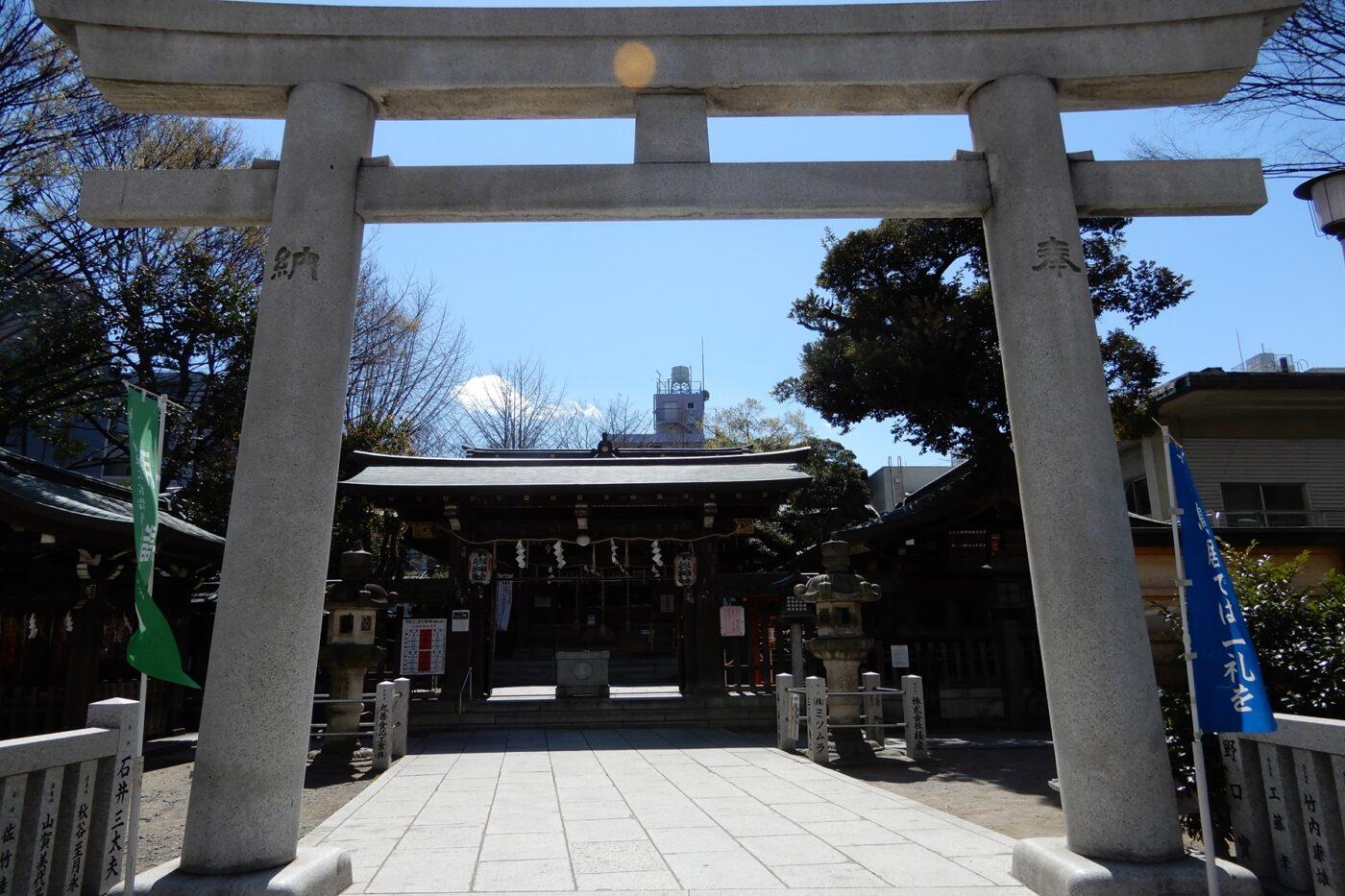 下谷神社の写真