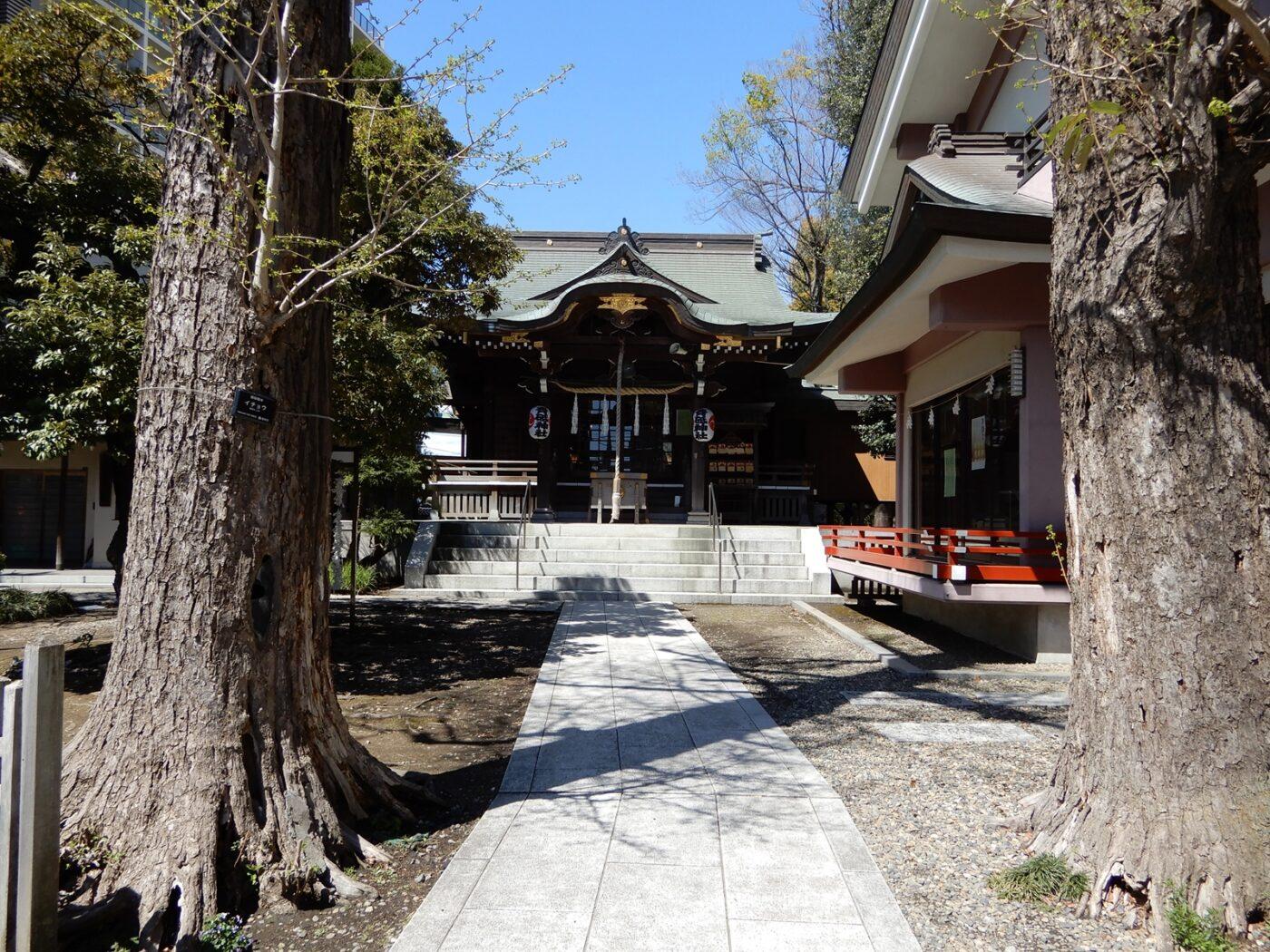 青砥神社の写真