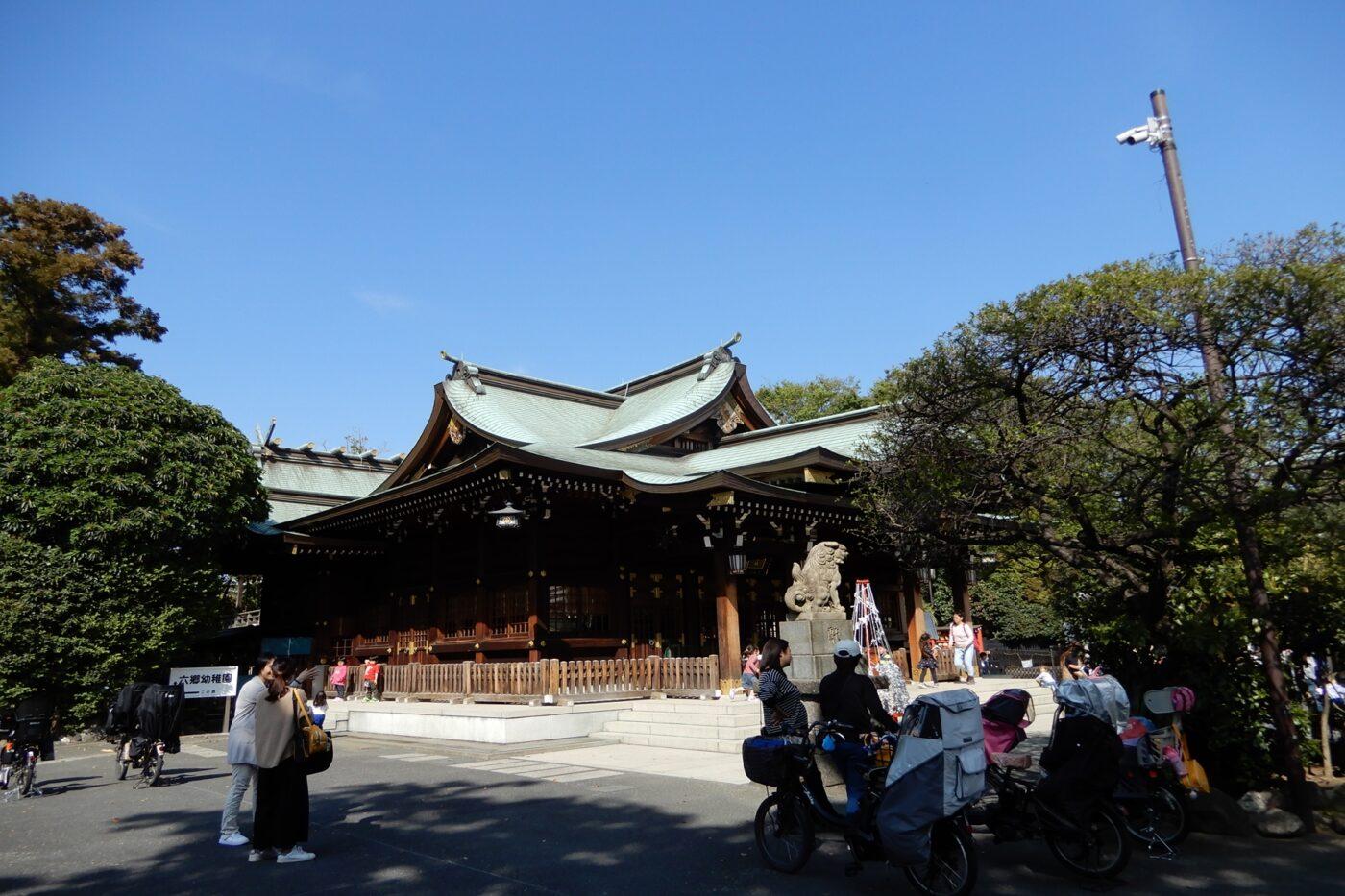 六郷神社の写真