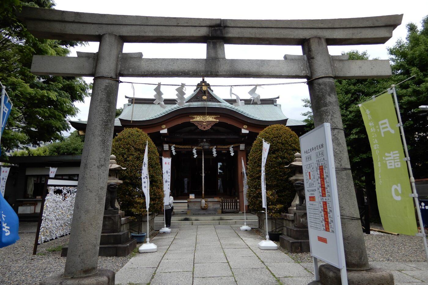 東向島白鬚神社の写真