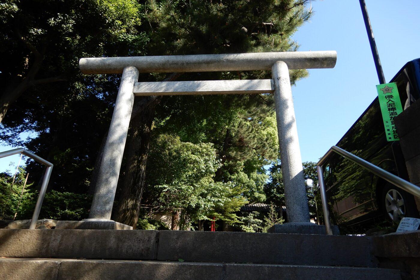 東玉川神社の写真