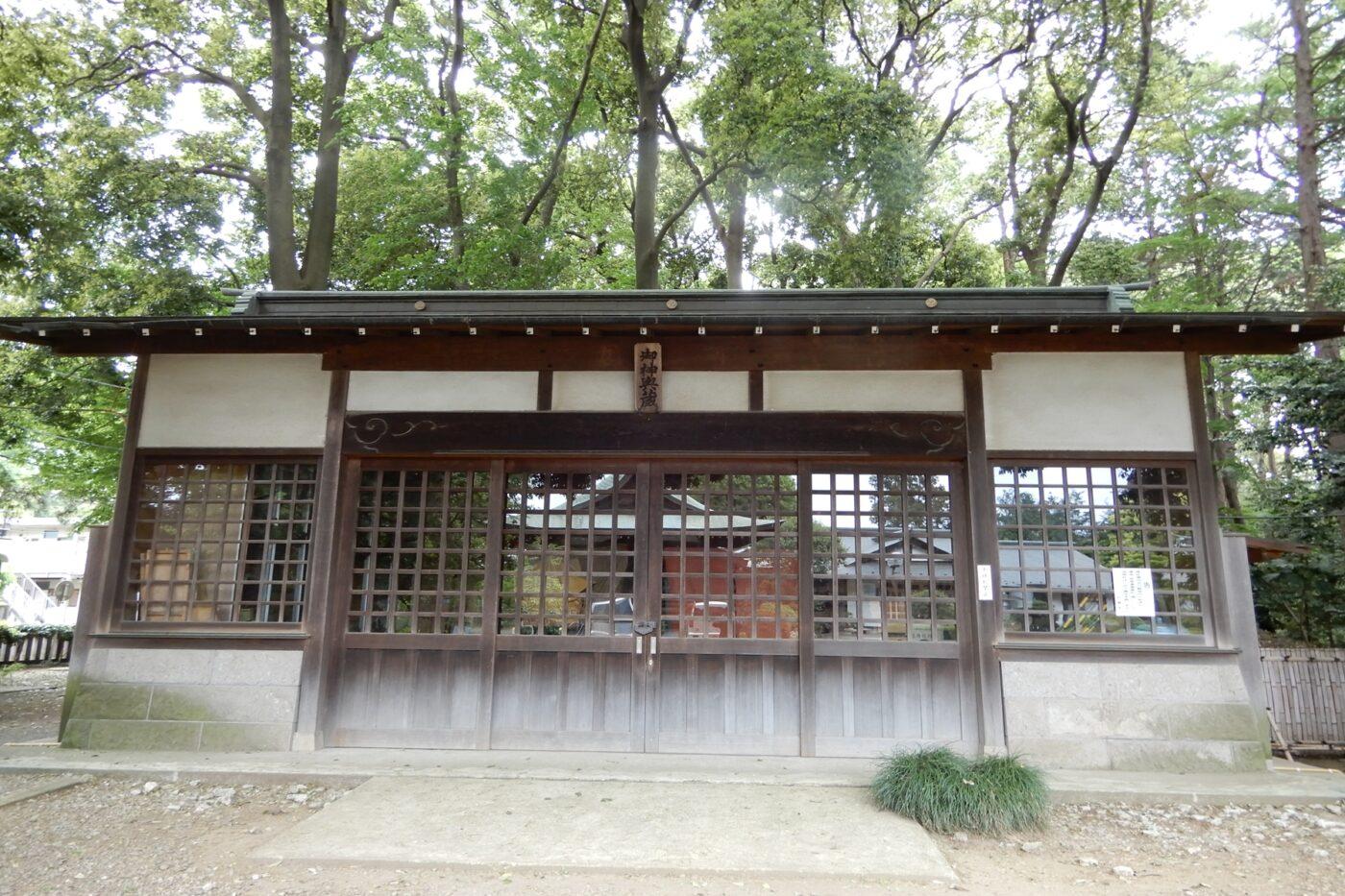 喜多見氷川神社の写真