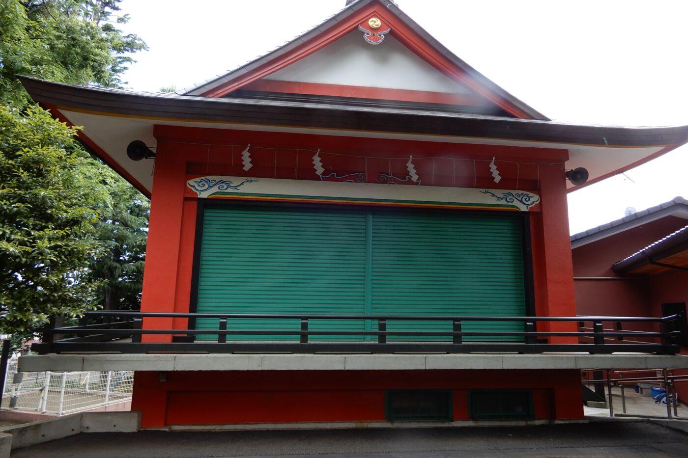 久が原西部八幡神社の写真