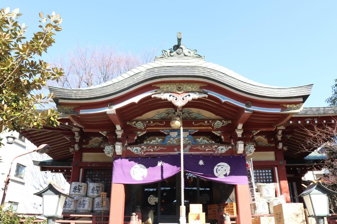 千住本氷川神社の写真