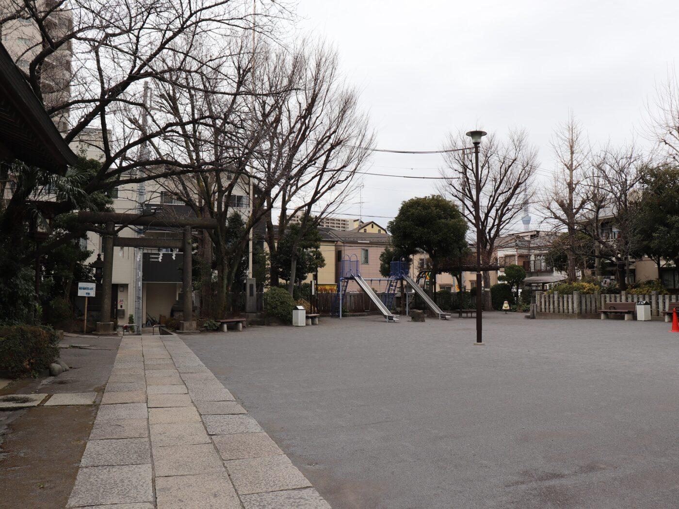 東大島神社の写真