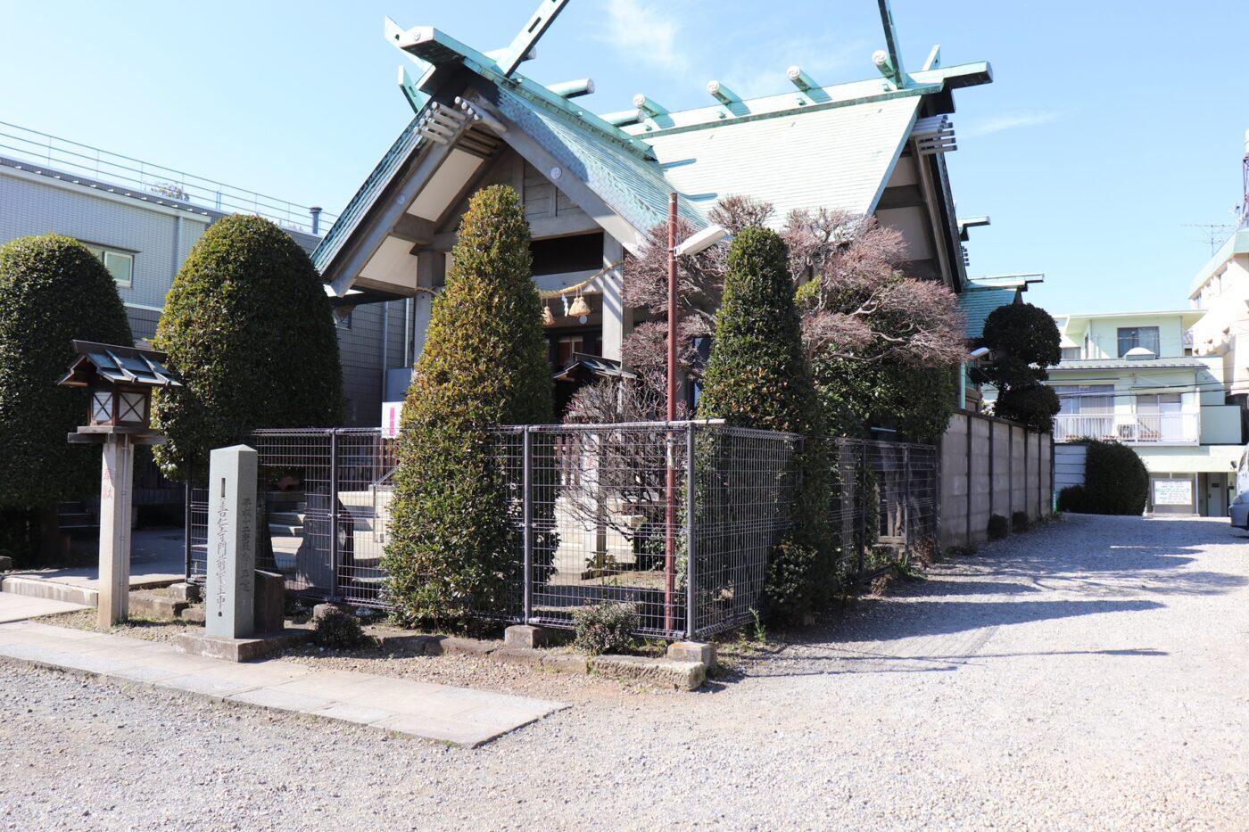 簸川神社の写真