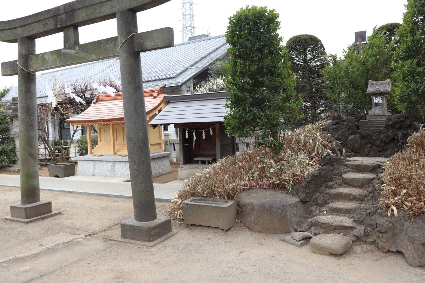 徳丸北野神社の写真