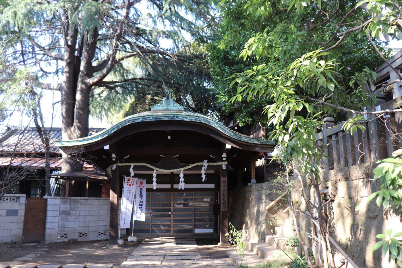 諏方神社の写真