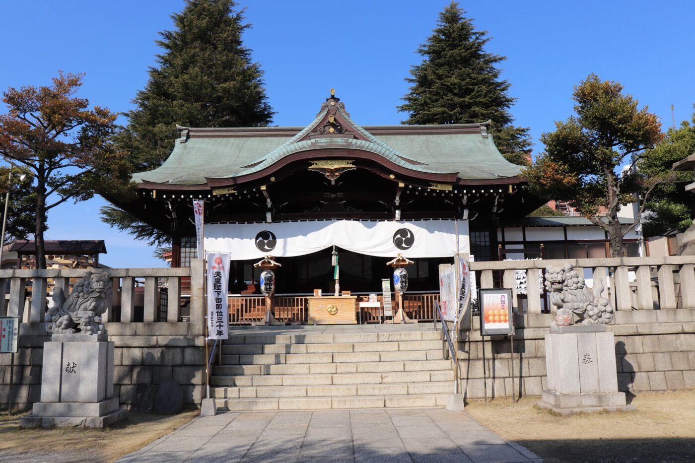 尾久八幡神社の写真