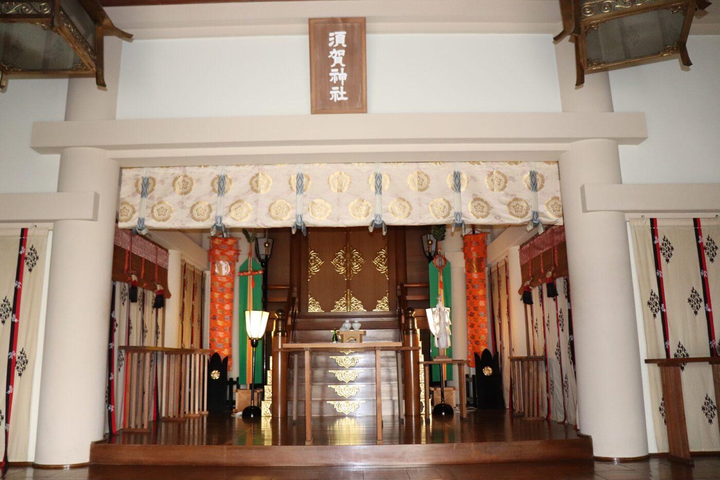 浅草橋 須賀神社の写真