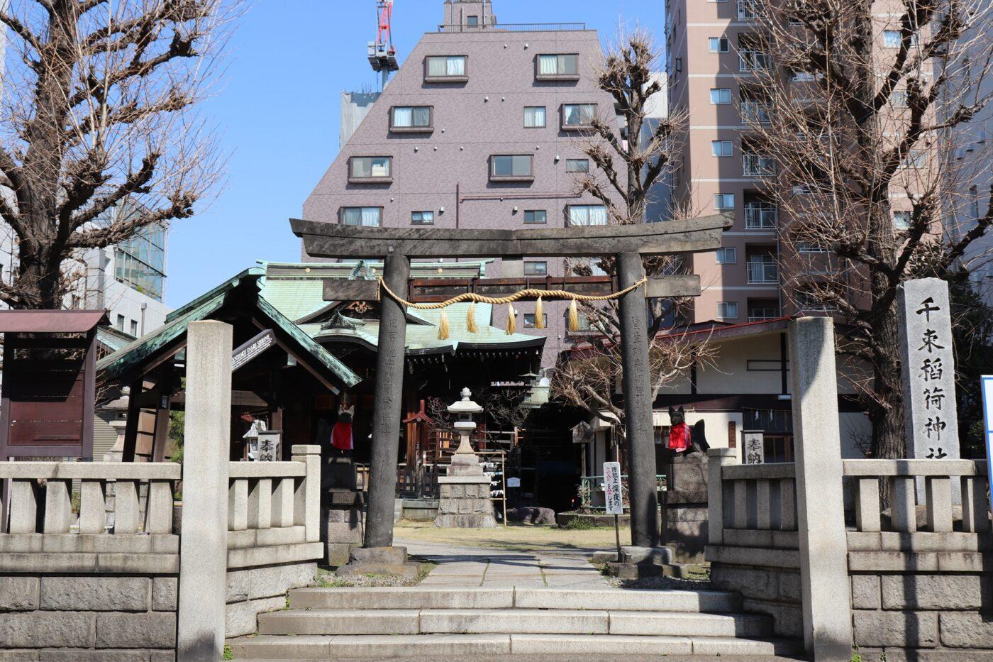 千束稲荷神社の写真