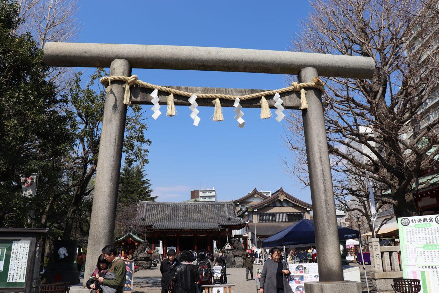 浅草神社の写真