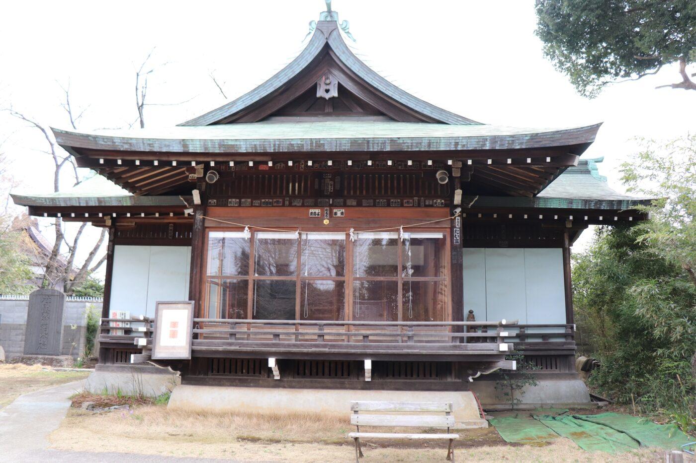 鷺宮八幡神社の写真