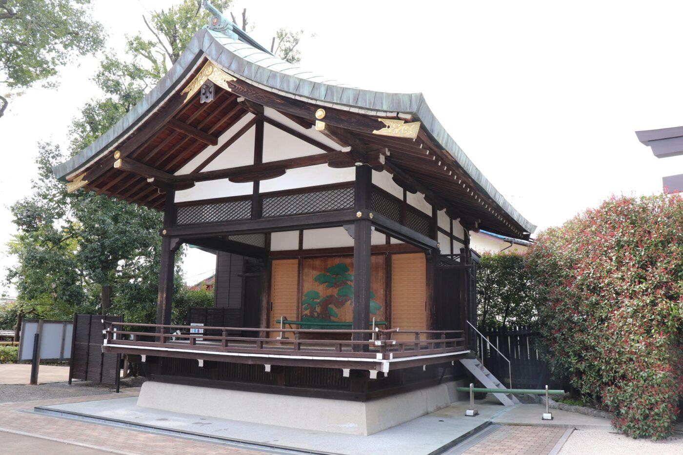 中野沼袋氷川神社の写真
