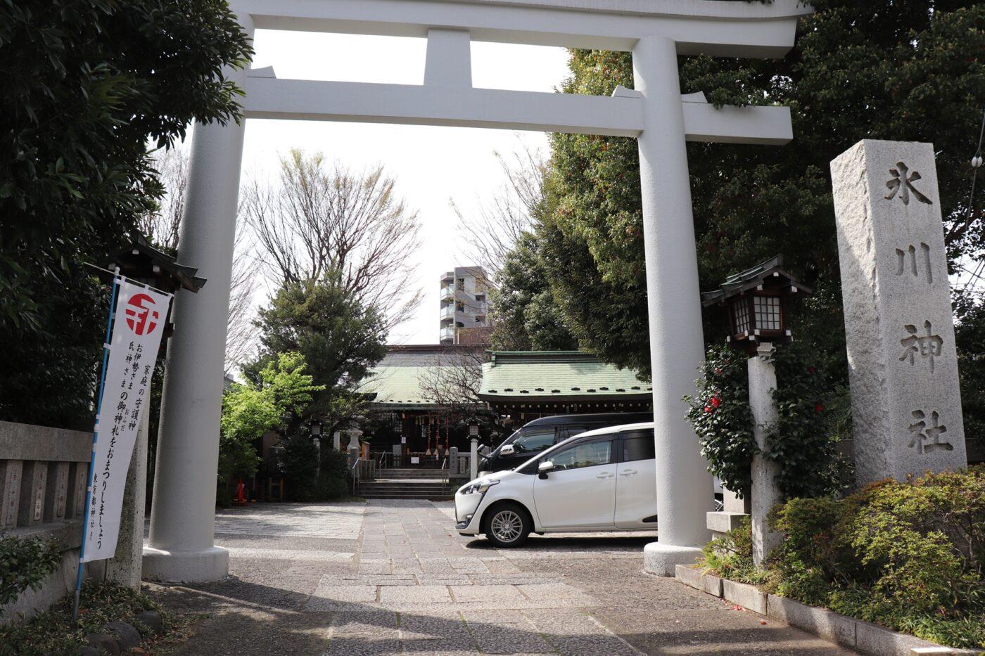 新宿下落合氷川神社の写真