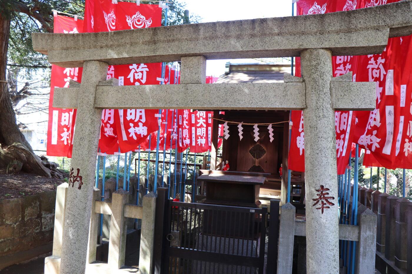 新宿諏訪神社の写真