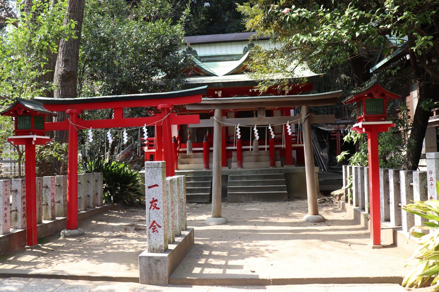 御田八幡神社の写真