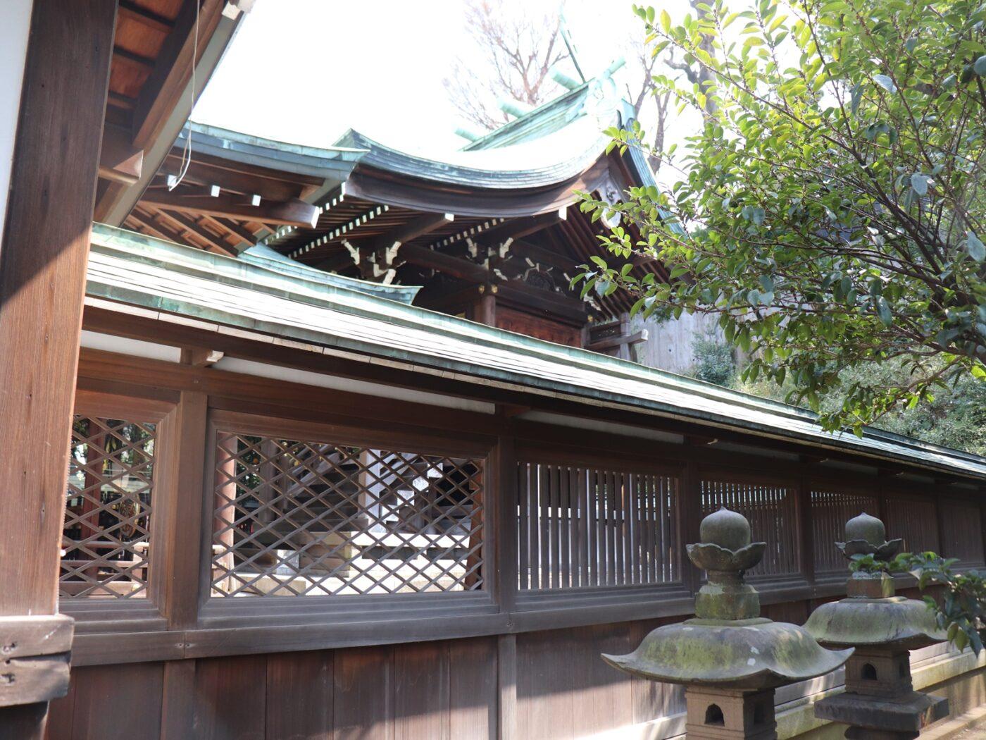 白金氷川神社の写真