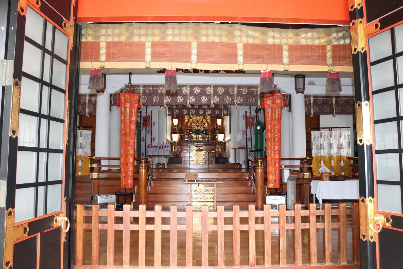 旗岡八幡神社の写真