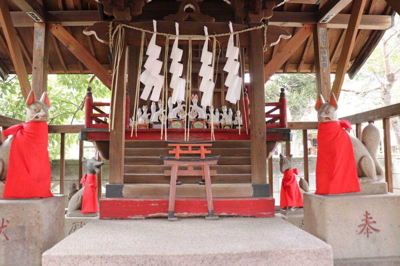 蛇窪神社(上神明天祖神社)の写真