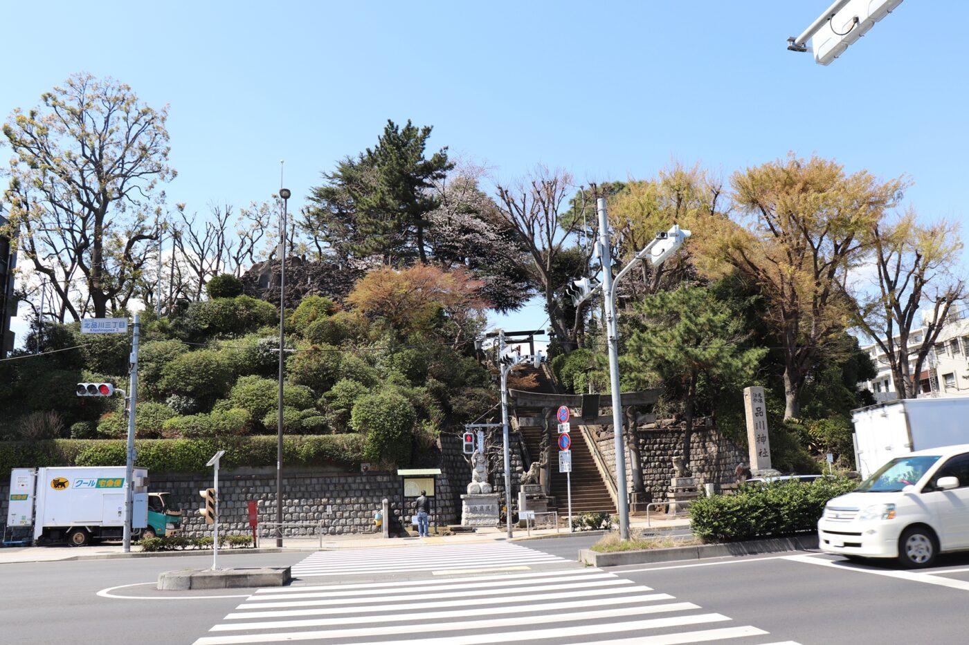 品川神社の写真