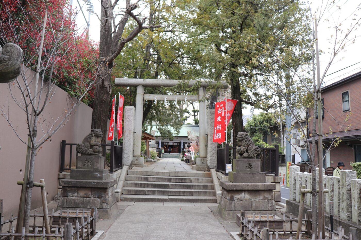 下神明天祖神社の写真