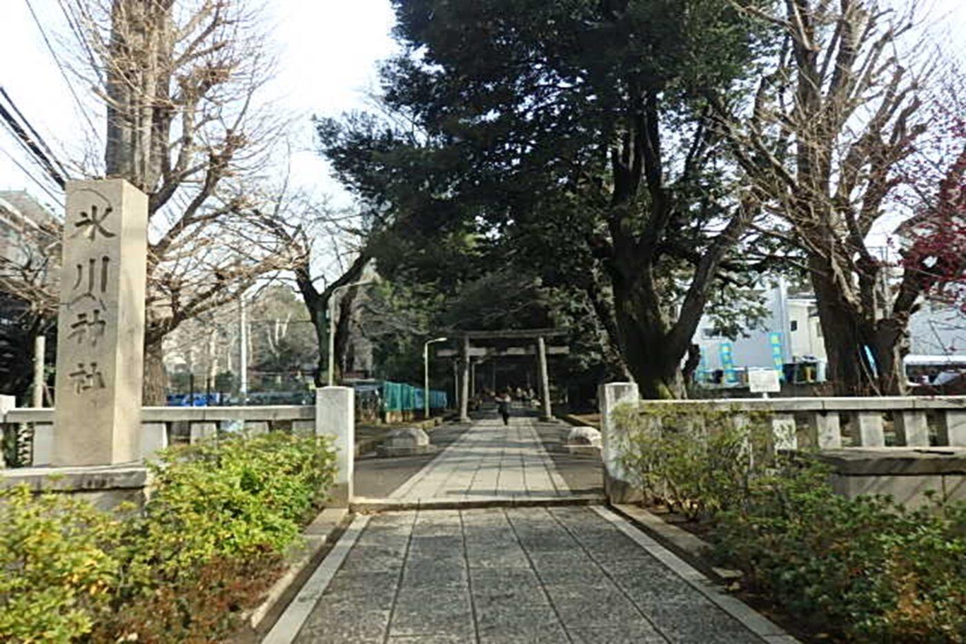 渋谷氷川神社の写真