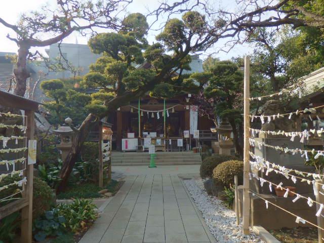 鳩森八幡神社の写真