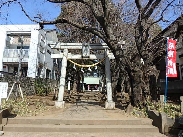 下高井戸浜田山八幡神社の写真