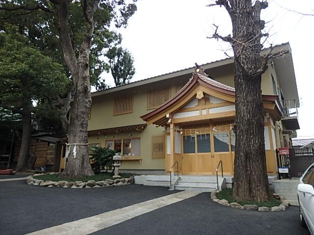 中目黒八幡神社の写真