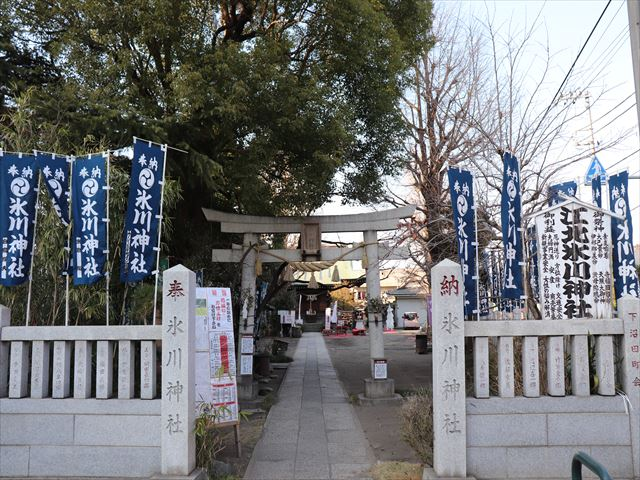 江北氷川神社の写真