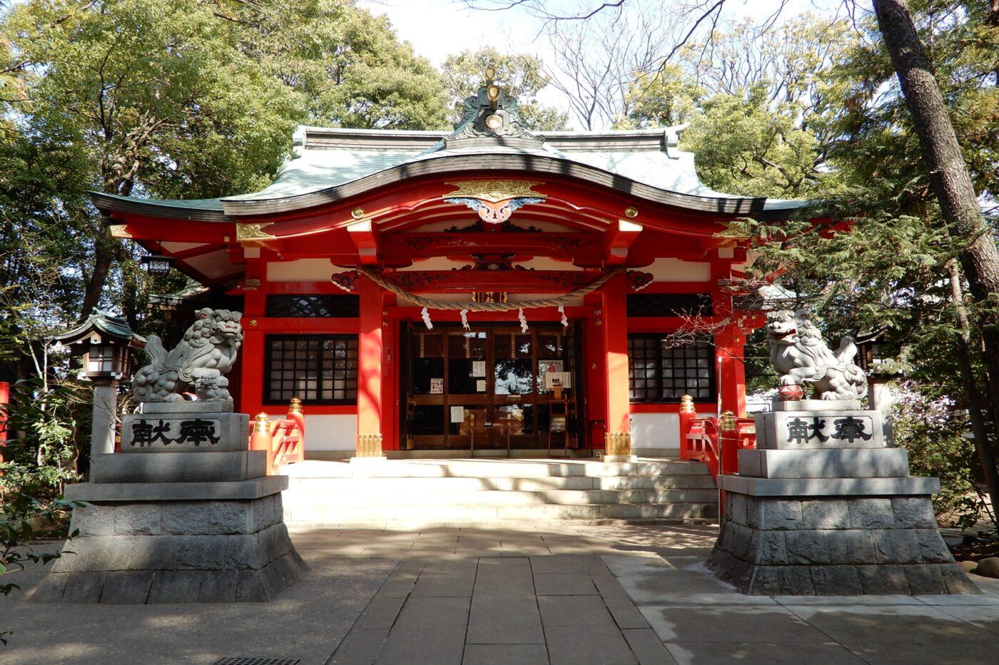 赤堤六所神社の写真