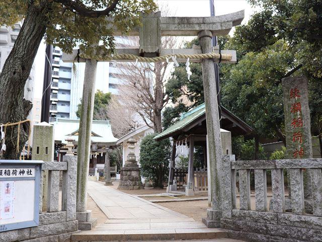 綾瀬稲荷神社の写真