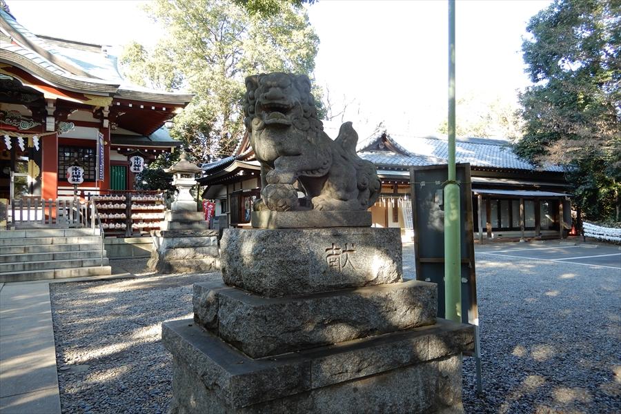 南沢氷川神社の写真