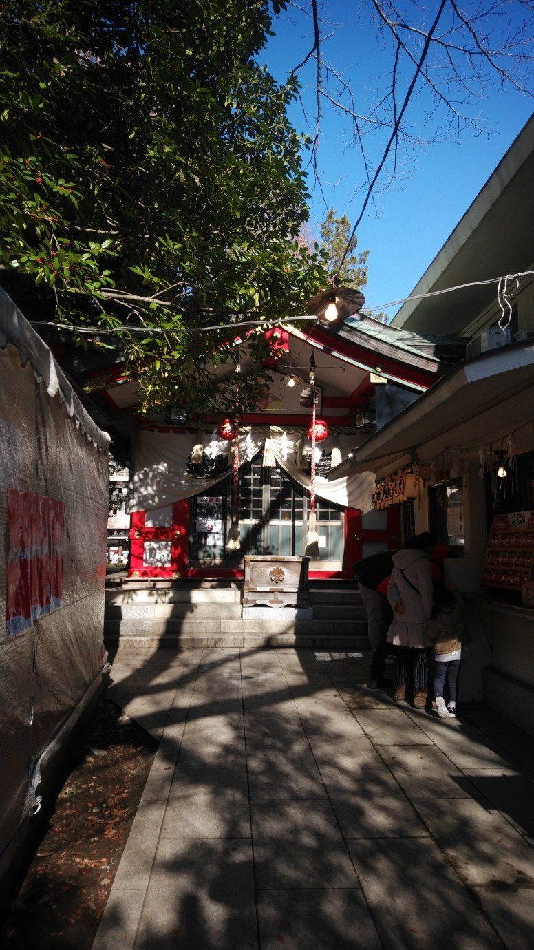 子安神社の写真