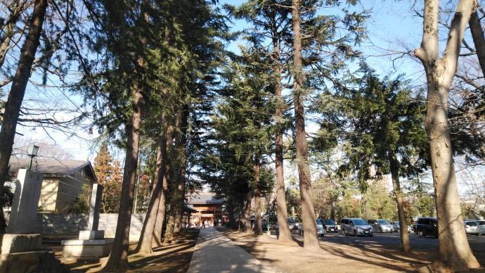 立川諏訪神社の写真