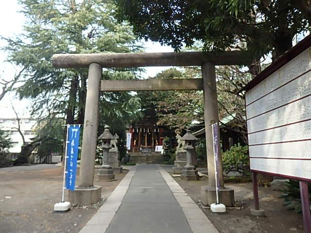 青山熊野神社の写真