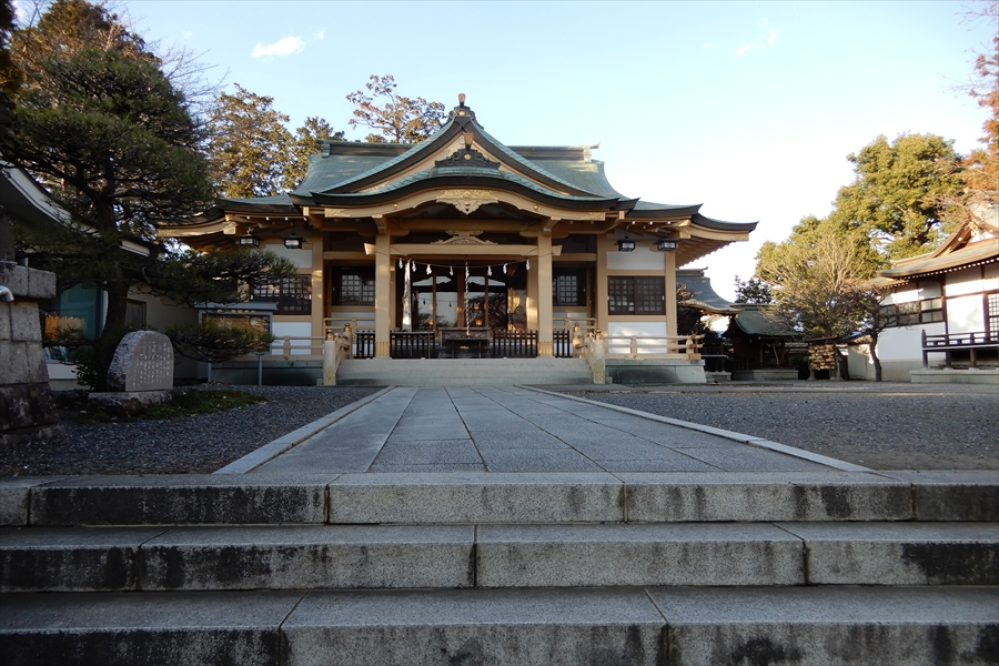 新町御嶽神社の写真