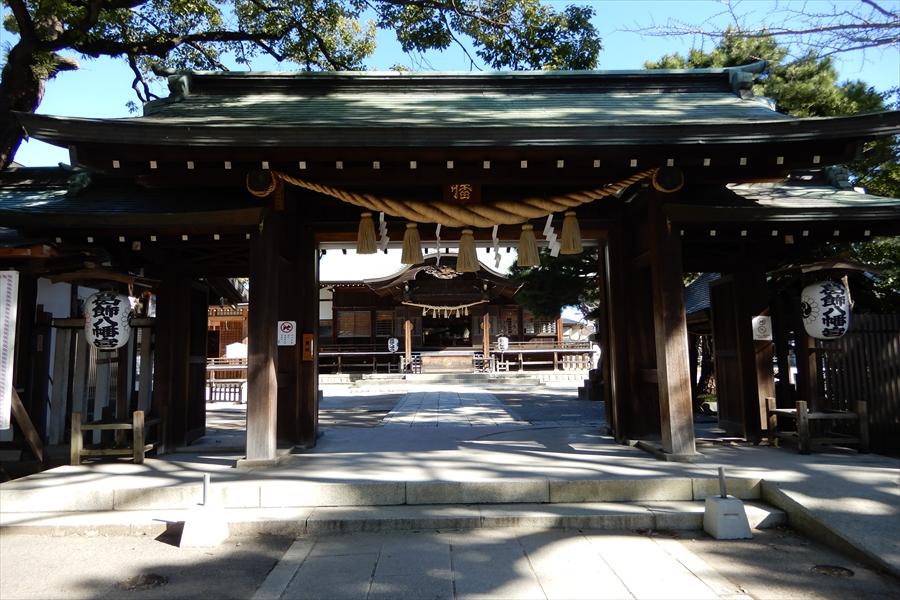 葛飾八幡宮の写真