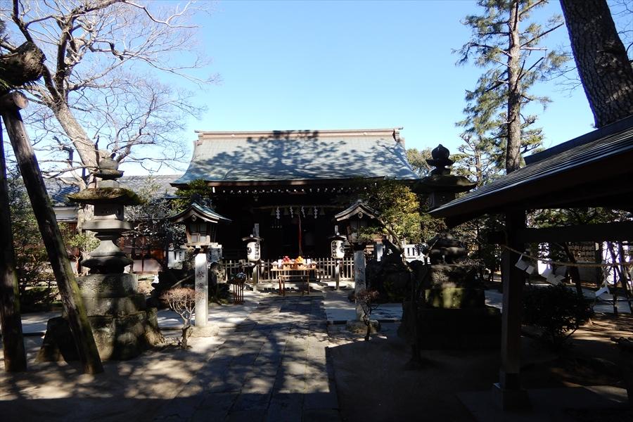 白幡天神社の写真