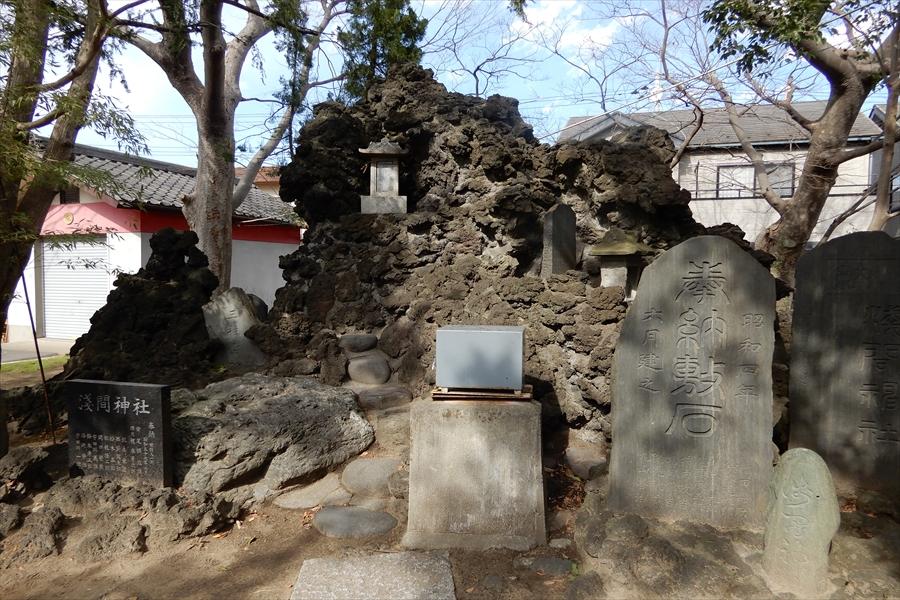 当代島 稲荷神社の写真