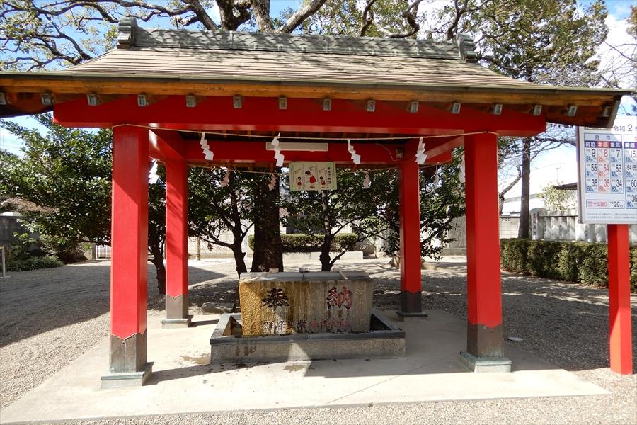 元郷氷川神社の写真