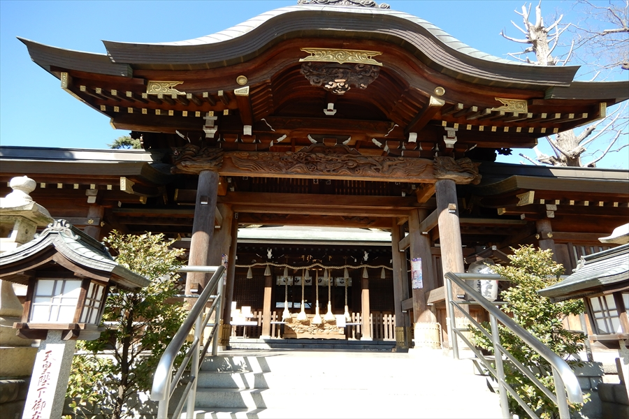鳩ケ谷総鎮守 氷川神社の写真