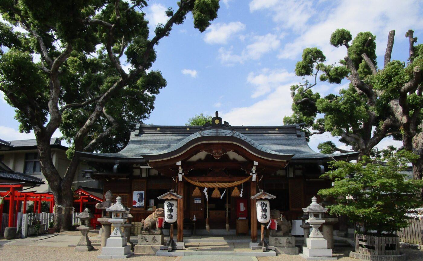 今津比枝神社の写真